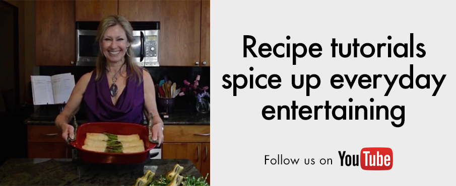Get the latest recipe tutorials by following us on YouTube